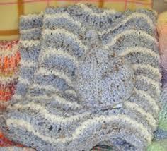 blue lofty knit
